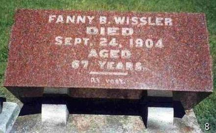WISSLER, FANNY B. - Madison County, Iowa | FANNY B. WISSLER