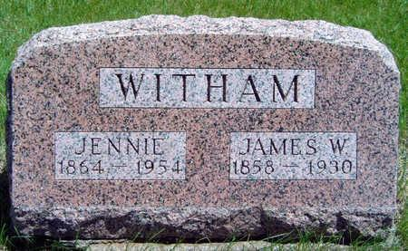 WITHAM, JAMES WILSON - Madison County, Iowa | JAMES WILSON WITHAM