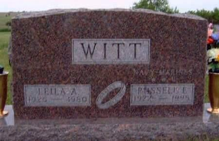 WITT, LEILA ARLEEN - Madison County, Iowa | LEILA ARLEEN WITT