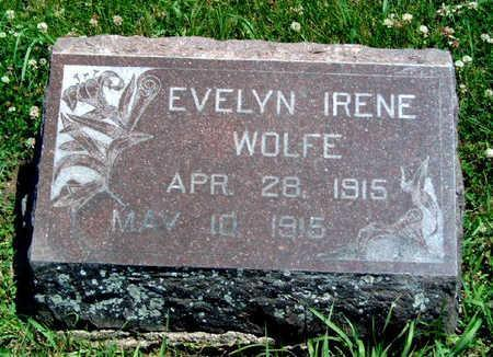 WOLFE, EVELYN IRENE - Madison County, Iowa | EVELYN IRENE WOLFE