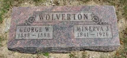 WOLVERTON, GEORGE WASHINGTON - Madison County, Iowa | GEORGE WASHINGTON WOLVERTON