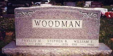WOODMAN, WILLIAM  E. - Madison County, Iowa | WILLIAM  E. WOODMAN