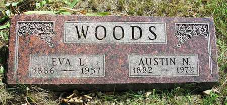 WOODS, EVALENA L. (EVA) - Madison County, Iowa | EVALENA L. (EVA) WOODS