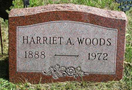 WOODS, HARRIET ALICE - Madison County, Iowa   HARRIET ALICE WOODS
