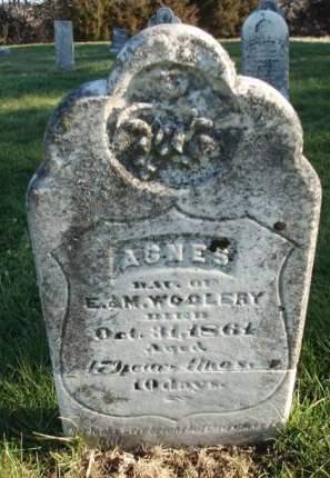 WOOLERY, AGNES - Madison County, Iowa   AGNES WOOLERY