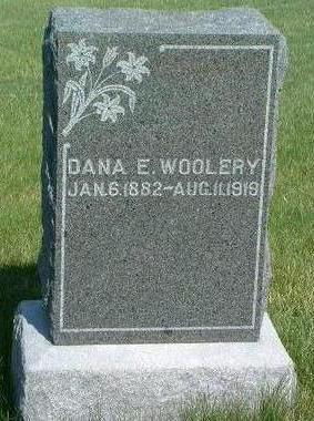 WOOLERY, DANA EDWARD - Madison County, Iowa   DANA EDWARD WOOLERY