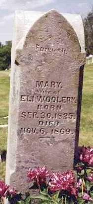 MATHIAS WOOLERY, MARY - Madison County, Iowa | MARY MATHIAS WOOLERY