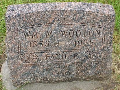 WOOTON, WM M. - Madison County, Iowa | WM M. WOOTON