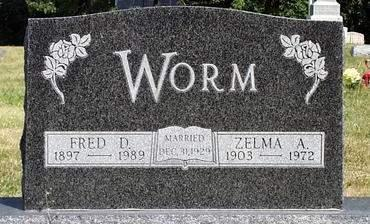 LEEPER WORM, ZELMA ANN - Madison County, Iowa | ZELMA ANN LEEPER WORM