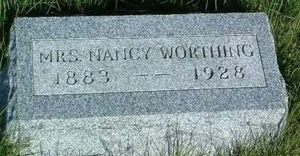 AMES WORTHING, NANCY T. - Madison County, Iowa | NANCY T. AMES WORTHING
