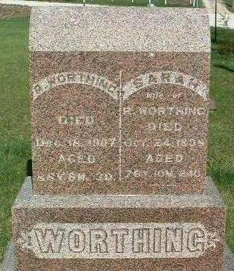 WORTHING, RICHARD SETH - Madison County, Iowa | RICHARD SETH WORTHING