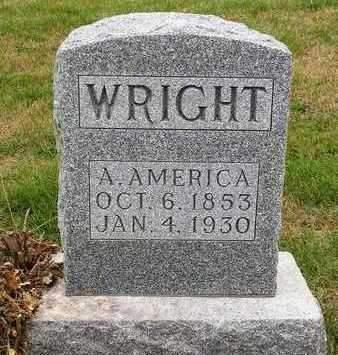 WRIGHT, AMANDA AMERICA - Madison County, Iowa | AMANDA AMERICA WRIGHT