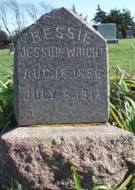 WRIGHT, BESSIE - Madison County, Iowa | BESSIE WRIGHT