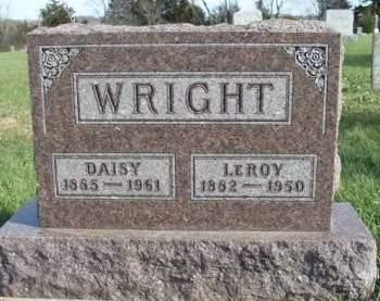 WRIGHT, DAISY ELIZABETH - Madison County, Iowa | DAISY ELIZABETH WRIGHT