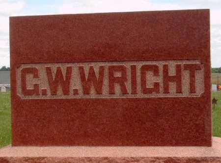 WRIGHT, GEORGE WILLIAM - Madison County, Iowa   GEORGE WILLIAM WRIGHT