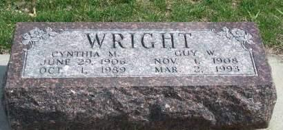 WRIGHT, CYNTHIA MARGARET - Madison County, Iowa | CYNTHIA MARGARET WRIGHT