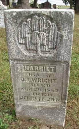 WRIGHT, HARRIET - Madison County, Iowa | HARRIET WRIGHT