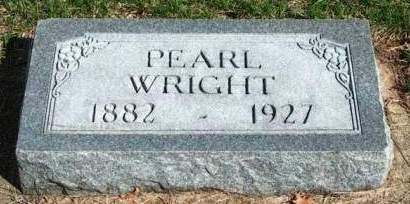 WRIGHT, MARY PEARL - Madison County, Iowa | MARY PEARL WRIGHT