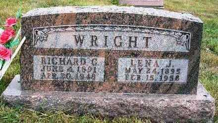 WRIGHT, LENA JANE - Madison County, Iowa | LENA JANE WRIGHT