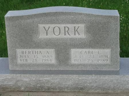 RATCLIFF YORK, BERTHA A. - Madison County, Iowa | BERTHA A. RATCLIFF YORK