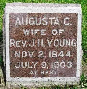 YOUNG, AUGUSTA C. - Madison County, Iowa | AUGUSTA C. YOUNG