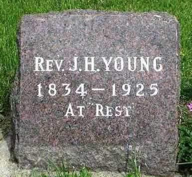YOUNG, JAMES H. (REV.) - Madison County, Iowa | JAMES H. (REV.) YOUNG