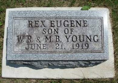 YOUNG, REX EUGENE - Madison County, Iowa   REX EUGENE YOUNG