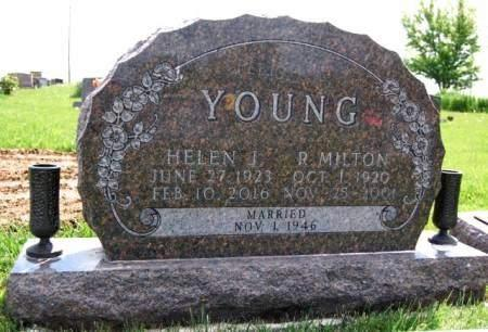 YOUNG, HELEN JUNE - Madison County, Iowa | HELEN JUNE YOUNG