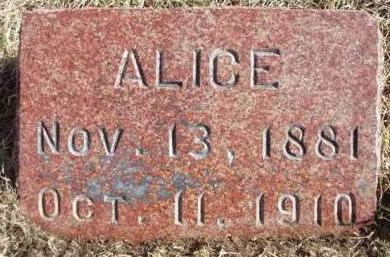RITTER YOUNGS, ALICE (ALLIE) - Madison County, Iowa | ALICE (ALLIE) RITTER YOUNGS