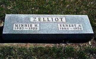 ZELLIOT, MINNIE ETTA - Madison County, Iowa | MINNIE ETTA ZELLIOT