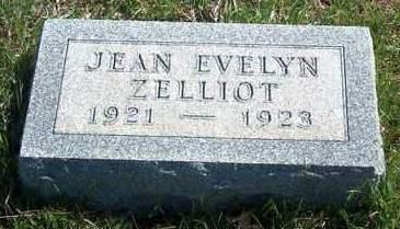 ZELLIOT, JEAN EVELYN - Madison County, Iowa | JEAN EVELYN ZELLIOT
