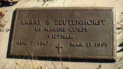 ZEUTENHORST, LARRY B. - Madison County, Iowa | LARRY B. ZEUTENHORST