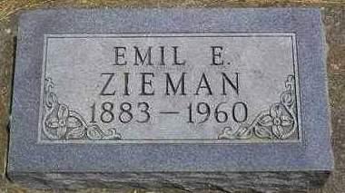 ZIEMANN, EMIL FREDERICH ERNEST - Madison County, Iowa | EMIL FREDERICH ERNEST ZIEMANN