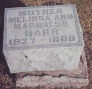 MARQUESS BARR, MELISSA ANN - Mahaska County, Iowa | MELISSA ANN MARQUESS BARR
