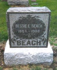 BEACH, BESSIE - Mahaska County, Iowa | BESSIE BEACH