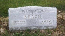 BEACH, EMMA ROSE - Mahaska County, Iowa | EMMA ROSE BEACH
