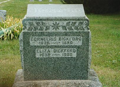 BICKFORD, ELIZA - Mahaska County, Iowa | ELIZA BICKFORD