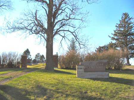 BLACK OAK, CEMETERY - Mahaska County, Iowa | CEMETERY BLACK OAK