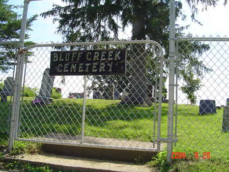BLUFF CREEK,  - Mahaska County, Iowa |  BLUFF CREEK