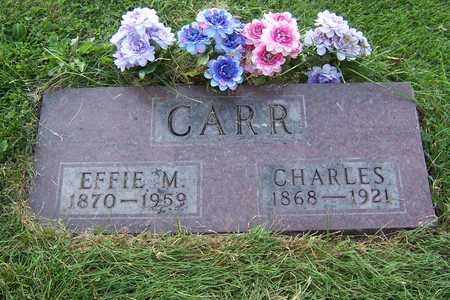 CARR, EFFIE - Mahaska County, Iowa | EFFIE CARR