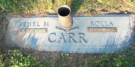 MORGAN CARR, ETHEL - Mahaska County, Iowa | ETHEL MORGAN CARR