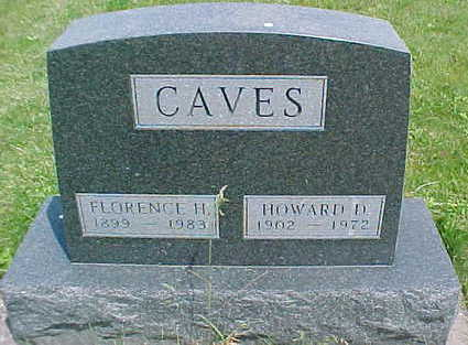 CAVES, HOWARD D. - Mahaska County, Iowa | HOWARD D. CAVES