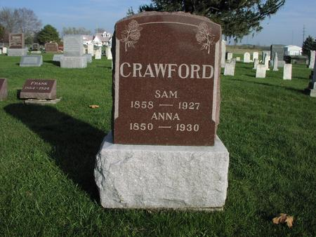 CRAWFORD, SAM - Mahaska County, Iowa | SAM CRAWFORD