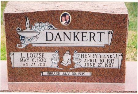 HAMILTON DANKERT, LORENA - Mahaska County, Iowa | LORENA HAMILTON DANKERT