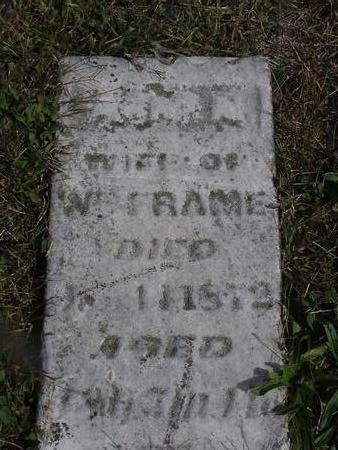 FRAME, ANN - Mahaska County, Iowa | ANN FRAME