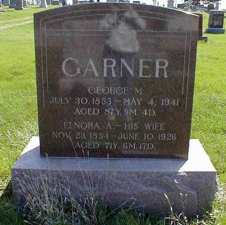 SHAW GARNER, ELENORA - Mahaska County, Iowa | ELENORA SHAW GARNER