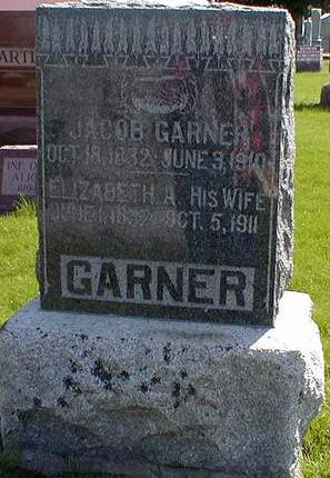 GARNER, JACOB - Mahaska County, Iowa | JACOB GARNER
