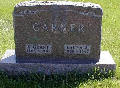 SHROYER GARNER, LAURA ALICE - Mahaska County, Iowa | LAURA ALICE SHROYER GARNER
