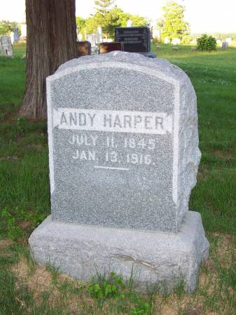 HARPER, ANDY - Mahaska County, Iowa | ANDY HARPER