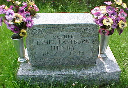 EASTBURN HENRY, ETHEL - Mahaska County, Iowa | ETHEL EASTBURN HENRY